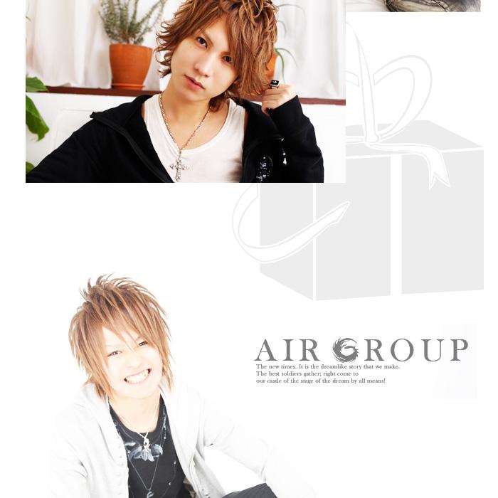 歌舞伎町のホストクラブ、AIR-GROUP ALLWHITE 歩・芹沢那智・天声慎吾グラビア